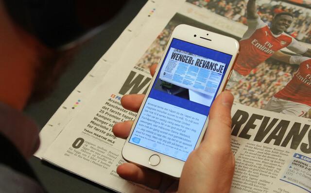 7b9b696758ec PÅ TELEFONEN  Prizmo Go lar det skanne tekst fra papir og lese det på  skjermen