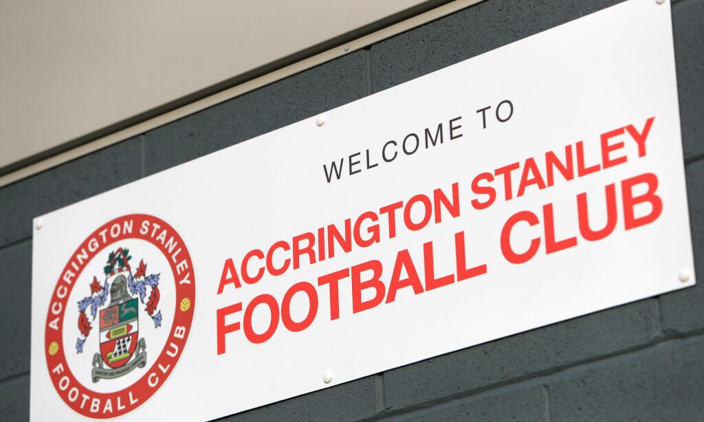 FIKK SVAR: Accrington Stanley-sjefen kritiserte Premier League og fikk et svar han ikke hadde ventet seg. Foto: NTB Scanpix