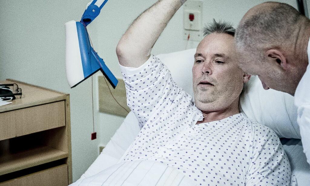 image: Robot fjernet Mortens prostatakreft. Legenes håp var at pasientene skulle få færre ereksjonsproblemer
