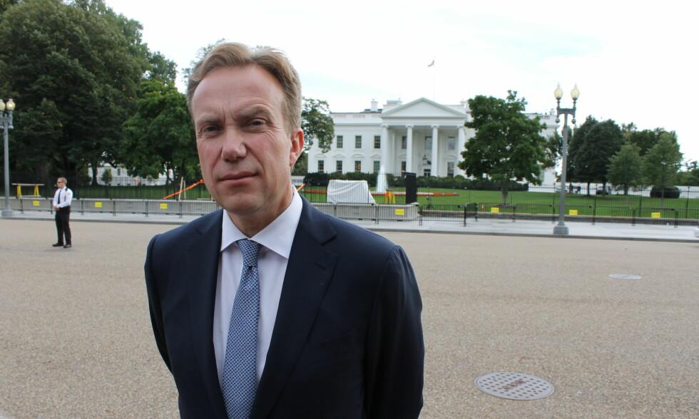 KRITISK: Utenriksminister Børge Brende sier han kommer til å fortsette å kritisere USA-administrasjonen, men minner om at USA er en viktig alliert. Foto: Vegard Kristiansen Kvaale / Dagbladet