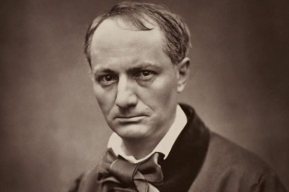 SOMMERGJEST? Den moderne poeten Charles Baudelaire blir analysert i årets sommerfilosofibok.