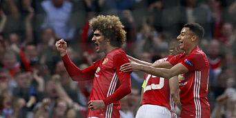 image: To utvisninger, drama og svensk giganttabbe da Manchester United sikret finaleplassen: - Helt sykt