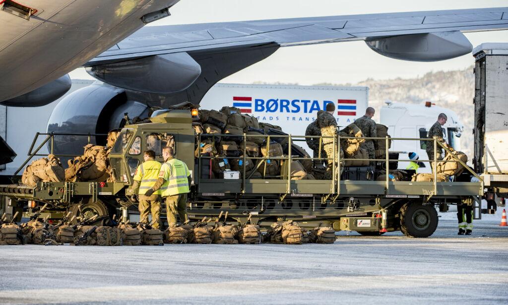 image: Lar USA rykke inn for å fylle hullene i det norske forsvaret