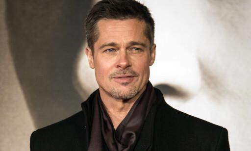 IKKE IMPONERT: Brad Pitt virket ikke særlig fornøyd med Shania Twain-låten da han ble intervjuet for seks år siden. Foto: NTB scanpix