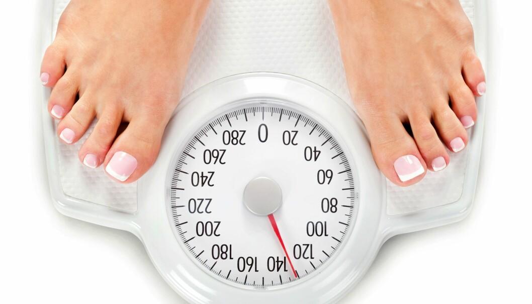<strong>Overvekt:</strong> Så lenge vekta er for høy, hjelper det ikke at du er fri fra diabetes, høyt blodtrykk eller kolestrol. Det er ikke noe heter sunn overvekt, ifølge ny forskning. Foto: NTB Scanpix.&nbsp;