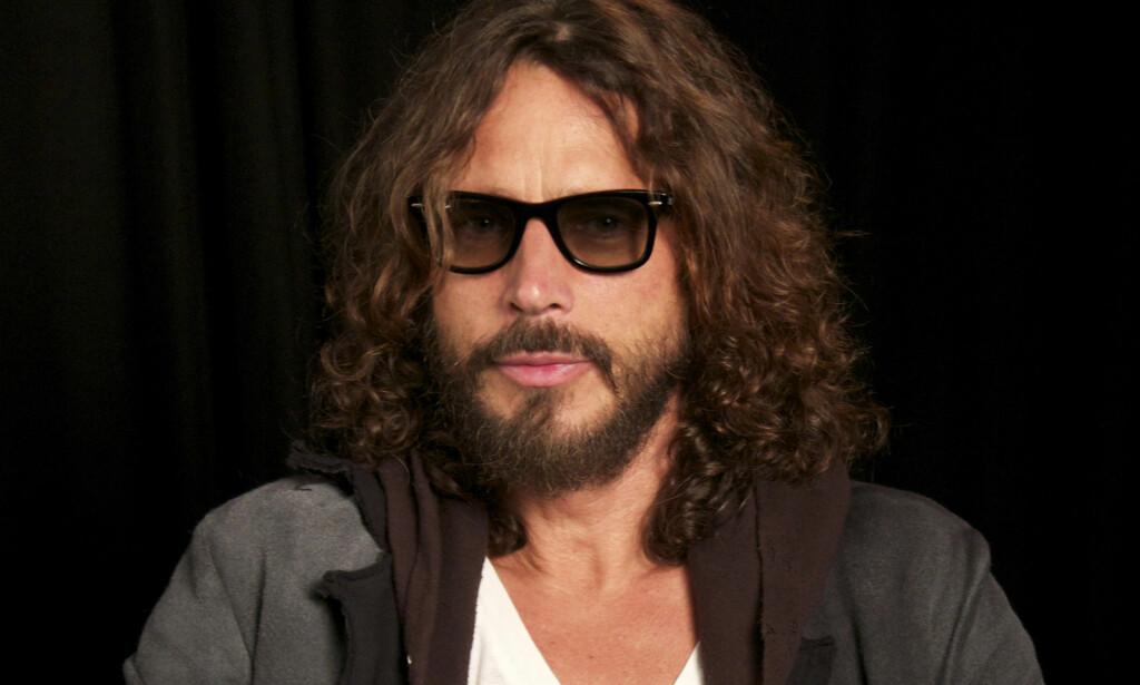 DØD: Rockestjerna Chris Cornell har gått bort, 52 år gammel Her fra Quart 2005 med Audioslave. Foto: NTB Scanpix