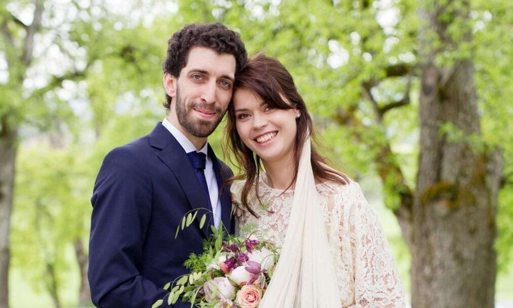 <strong>SLUTT:</strong> I tredje sesong av «Gift ved første blikk» ga Bernhard Bornstein (30) og Akhila Kristi Dranger (28) hverandre sitt ja. Nå har paret valgt å gå hver til sitt. Foto: TVNorge