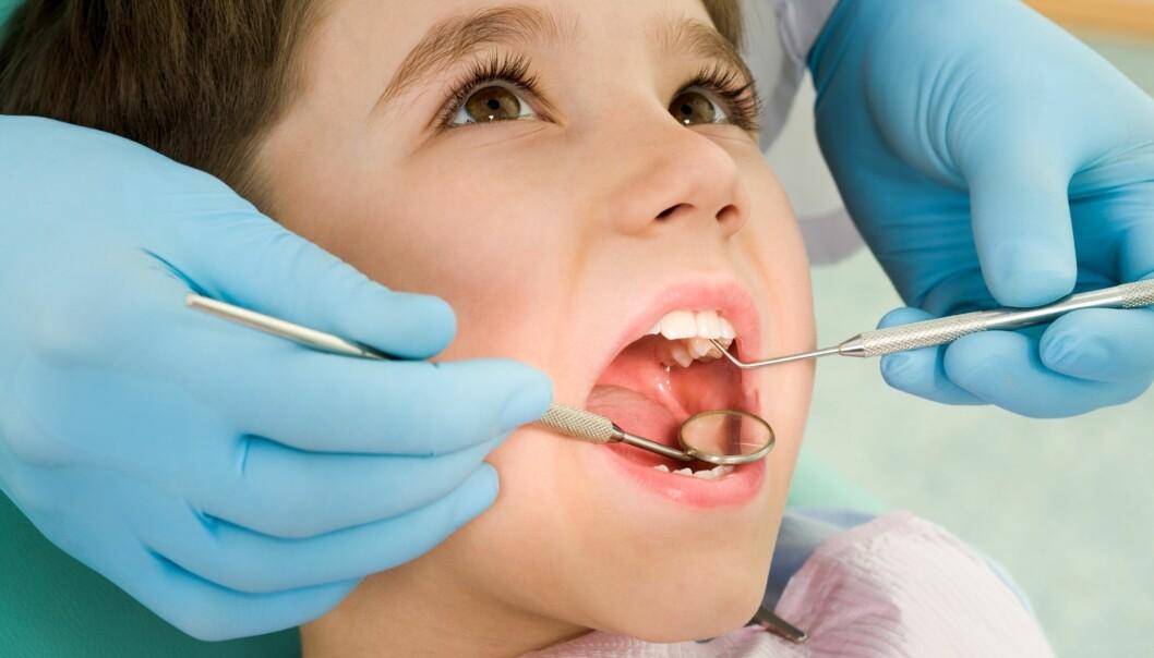 TANNLEGESKREKK HOS BARN: Barn med angst for tannbehandling kan blant annet få beroligende medikamenter. Foto: Shutterstock / NTB scanpix