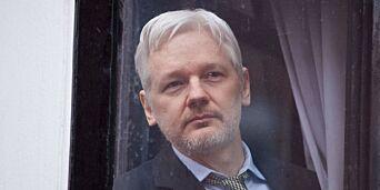 image: Assanges forfall bak ambassademurene