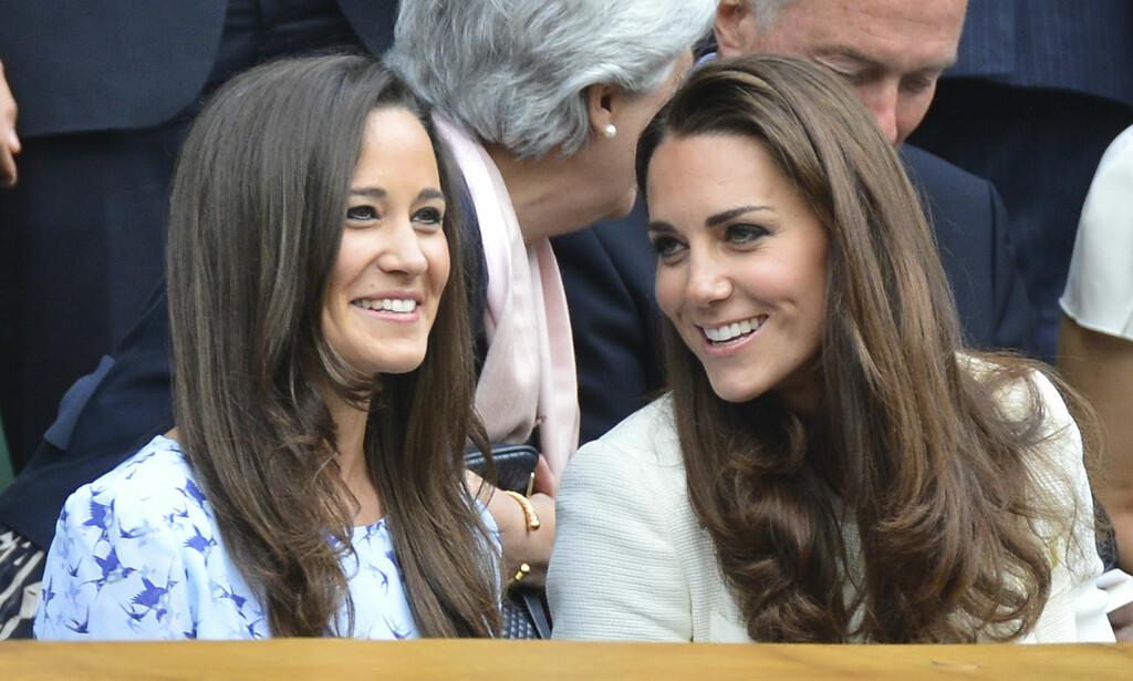 VERDENSKJENTE: Pippa og Kate har et godt forhold, og figurerer en god del i pressen sammen, såvel som alene. Når Pippa lørdag gifter seg, spekuleres det i om hertuginnen kommer til å «ta en Pippa» selv. Foto: NTB Scanpix
