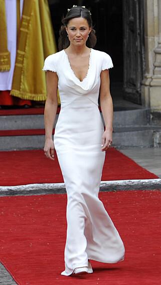 STJAL SHOWET: Britene gikk mann av huse for Kates søster, Pippa Middleton, Foto: REUTERS/Toby Melville , NTB Scanpix
