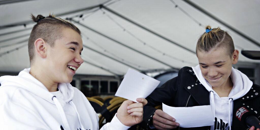 image: Se Marcus og Martinus utfordre hverandre i «vitse-challenge»