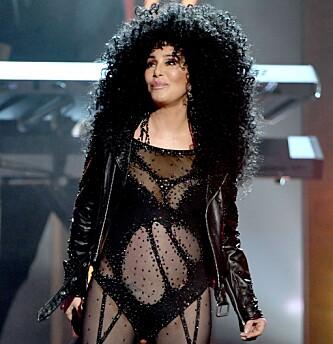 <strong>UNG:</strong> Cher så ung ut da hun opptrådde under prisutdelingen i helgen. Foto: NTB scanpix&nbsp;