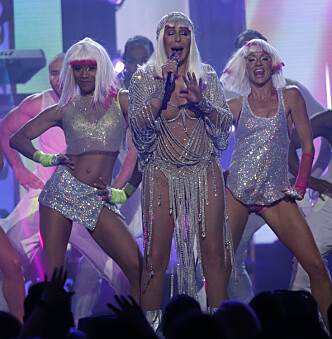 <strong>STRÅLTE:</strong> Cher strålte under søndagens «Billboard Music Awards». Foto: NTB scanpix&nbsp;