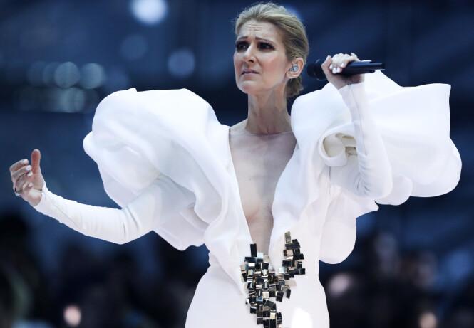 <strong>STERK OPPTREDEN:</strong> Det ble en sterk opptreden fra Celine Dion som rørte publikum til tårer under «Billboard Music Awards». Foto: NTB scanpix&nbsp;