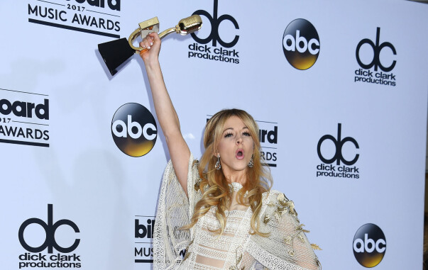 <strong>VANT:</strong> Lindsey Stirling vant for beste elektronikband. Foto: NTB scanpix&nbsp;