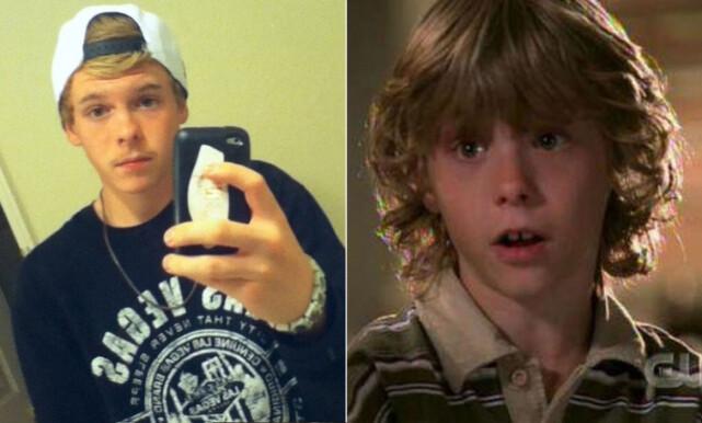 NIKOLAS BRINO: Spilte en av de to søte tvillingbrødrene i serien. FOTO: Twitter/promo
