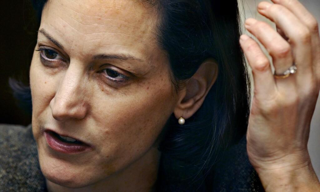 UTEN FILTER: Anne Applebaum er bekymret for demokratiets tilstand i Vesten. Foto: Gorm K. Gaare / Dagbladet