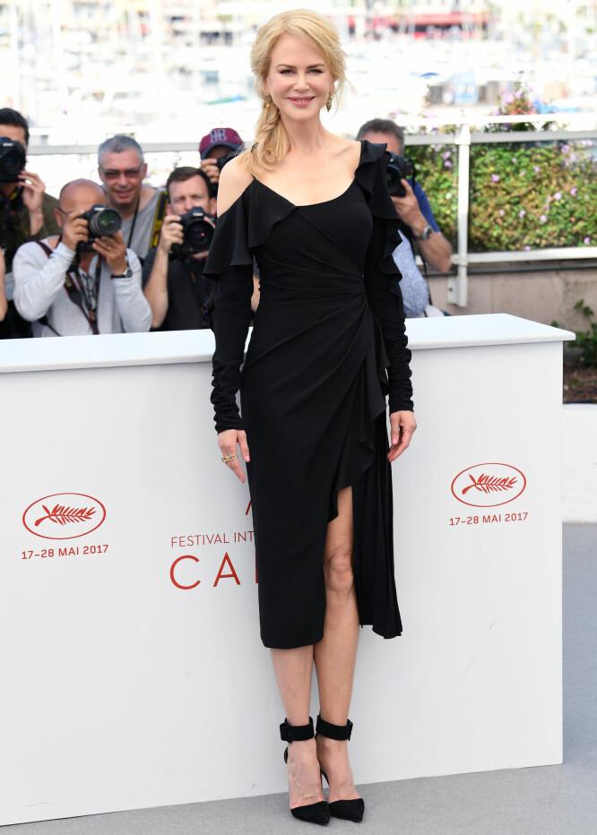 I SORT: Nicole Kidman på pressemøte for «Top of the Lake China Girl» i Cannes. Foto: Doug Peters/EMPICS Entertainment/ NTB scanpix