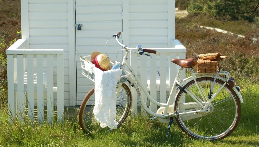SOMMERIDYLL: På Falsterbo er det lett å ha det godt. FOTO: Helene Toresdotter