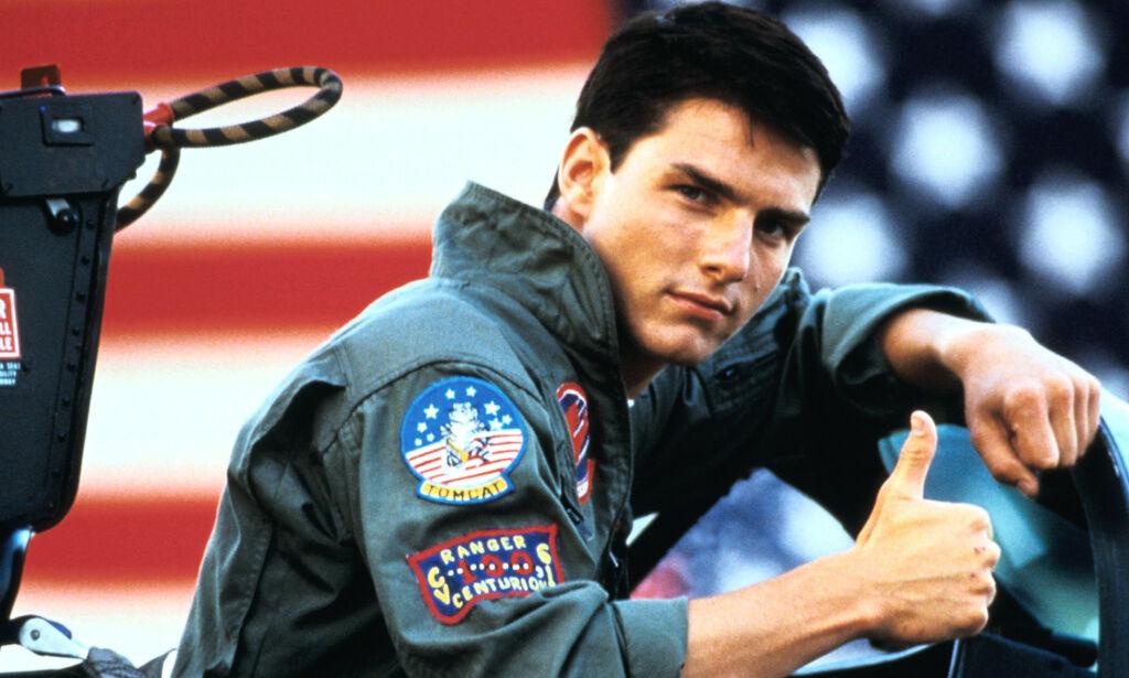 image: Tom Cruise ble superstjerne over natta med rollen som «Maverick». 31 år seinere bekrefter han oppfølger