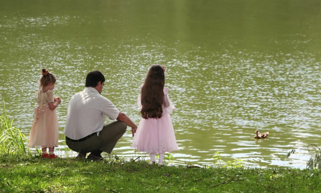 RETT TIL SAMVÆR: - Barn og deres fedre må også ha rett på et familieforhold etter et samlivsbrudd, akkurat som barn og deres mødre, skriver artikkelforfatteren. Foto: NTB Scanpix