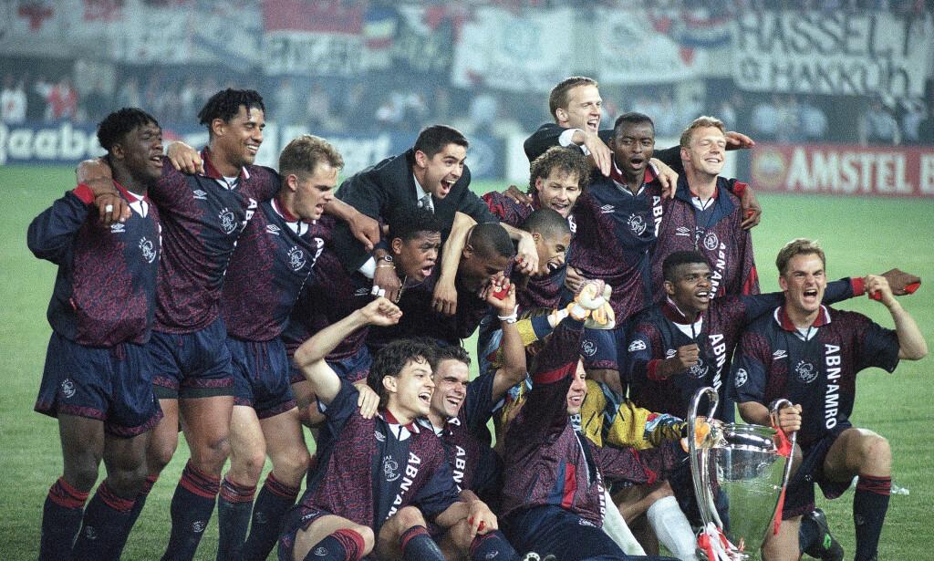 TALENTFABRIKK: Ajax imponerte med et lag bestående av flere akademispillere. Foto: AP Photo/Luca Bruno/NTB Scanpix