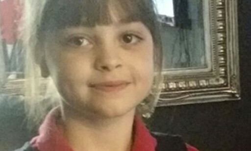 OFFER:  Saffie Rose Roussos (8). Foto: Privat/PA/AP/NTB Scanpix.