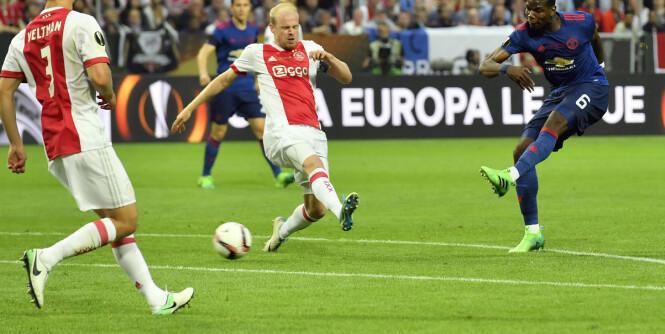 Her redder Pogba sesongen for Mourinho og Manchester United