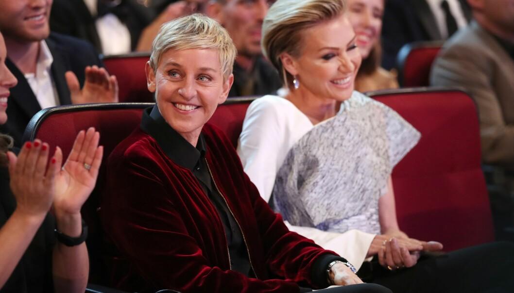 <strong>BABYLYKKE:</strong> Ellen DeGeneres og Portia de Rossi ønsker seg barn. Babyen blir et forsøk på å redde ekteskapet. Foto: NTB scanpix&nbsp;