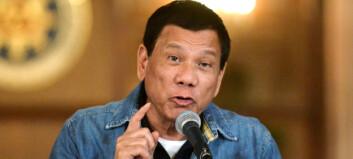 Politisjef ble erklært halshogd av president Duterte. Står fram og sier han er i live