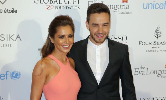 FORELDRE: Det var i mars Cheryl Cole og Liam Payne ble foreldre for aller første gang. Foto: NTB scanpix
