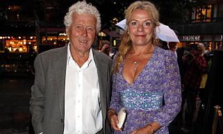 KUNNE IKKE: Beate Eriksen, her med ektemannen Toralv Maurstad, hadde ikke mulighet til å takke ja til «Farmen kjendis». Foto: Lise Åserud / NTB scanpix