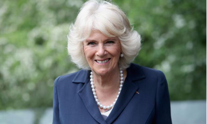 <strong>BRUKER LATTER:</strong> Camilla er i dag hertuginne av Cornwall, og er ofte å se i mediene. Hun sier at hun ofte må le av sin egen situasjon. Foto: REX/Shutterstock, NTB scanpix
