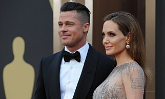 ENIGE: Brad Pitt og Angelina Jolie har blitt enige om omsorgsfordelingen for barna. Foto: AFP / NTB Scanpix