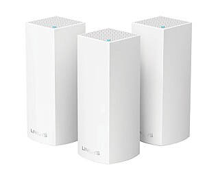 Velop er Linksys sin mesh-løsning for private. Foto: Linksys