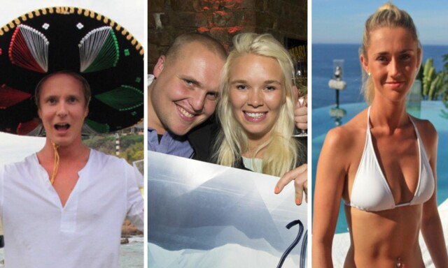 e9380685 VANT PARADISE HOTEL: Petter Pilgaard, Vida Lill Gausemel Berge og Martine  Sjøhaug har alle