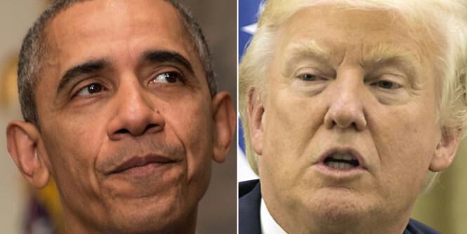 Obama hardt ut mot Trump. Sier at USA er uten lederskap