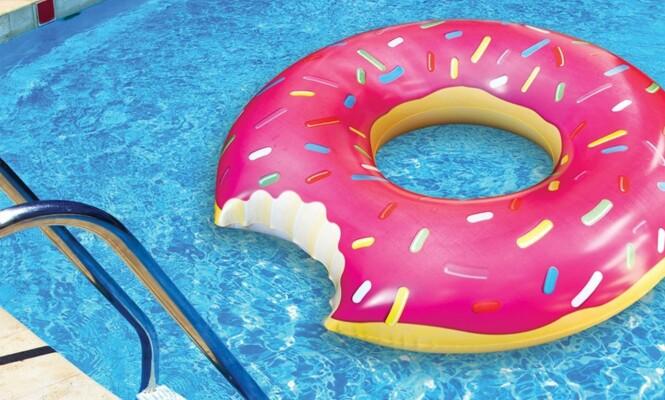 Oppblåsbar donut Foto: Teknikmagasinet