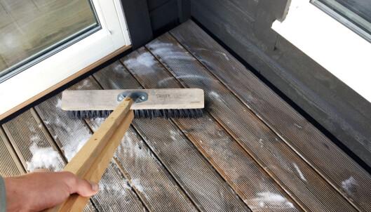Unngå dette når du vasker terrassen