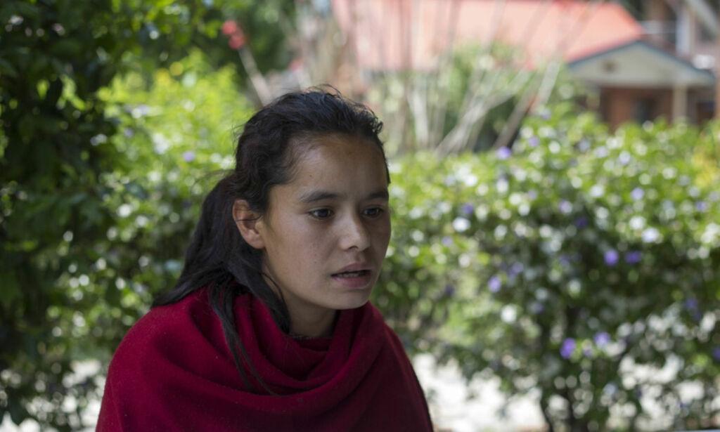 image: Dambari (15) ble merket for livet av mensen-overtro