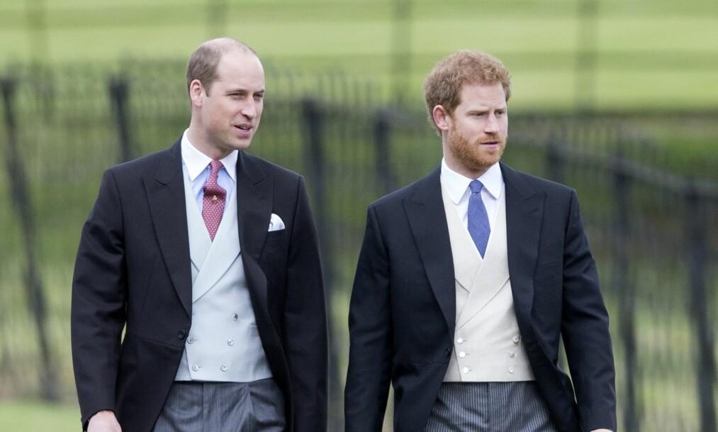 <strong>VALGETS KVALER:</strong> Prins William får tilsynelatende et tett program 19. mai når hans bror prins Harry skal gifte seg med skuespiller Meghan Markle. Foto: NTB Scanpix