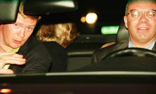 ET AV DE SISTE BILDENE: Trevor Rees-Jones, Henri Paul og prinsesse Diana avbildet minutter før tragedien er et faktum. Foto: NTB Scanpix