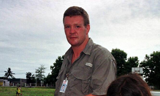 TILBAKETRUKKET LIV: Trevor Rees-Jones har ikke gitt intervjuer på årevis. Her er han avbildet i 2001. Foto: AP / NTB Scanpix