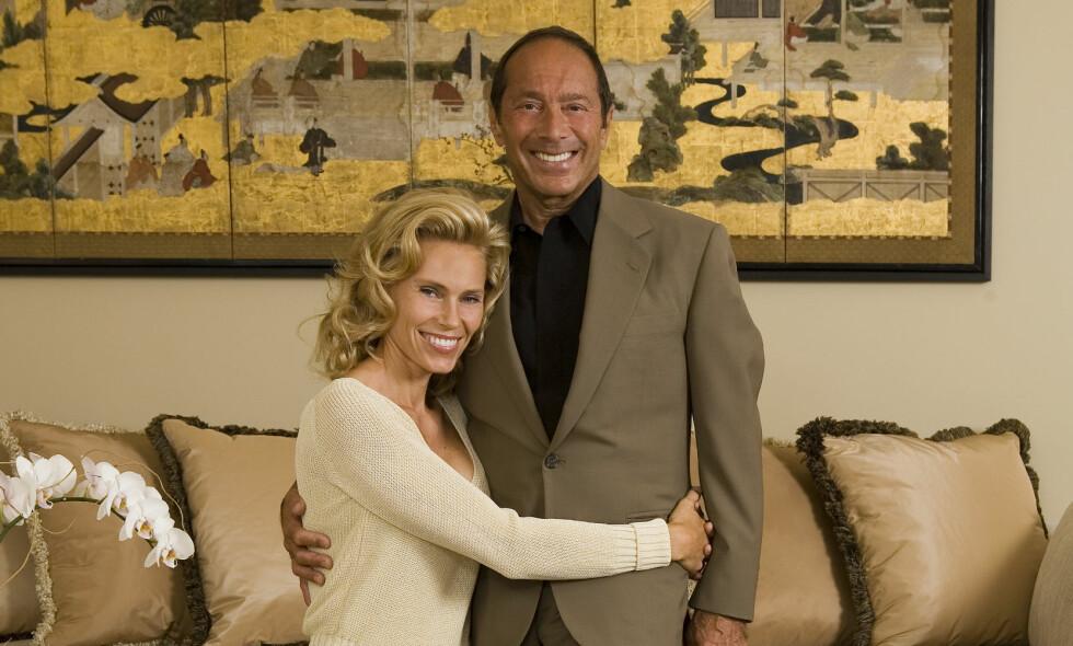 DEN GANG DA: Anna og Paul Anka var gift mellom 2008 og 2010. Eksparet har på ingen måte skiltes som venner, og ryker fortsatt i tottene på hverandre. Foto: NTB Scanpix