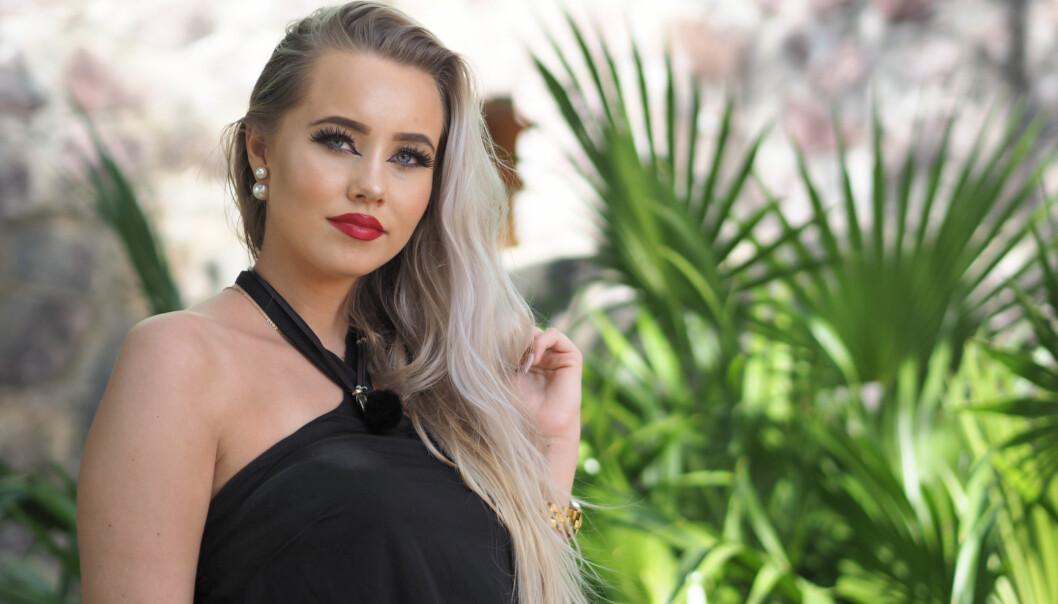 TRUES: Martine Lunde, vinner av årets «Paradise Hotel», forteller at hun har mottatt flere trusler etter finalen. Noen av dem truer henne på livet, og det har blitt så ille at hun vurderer å gå til politiet. Foto: TV3