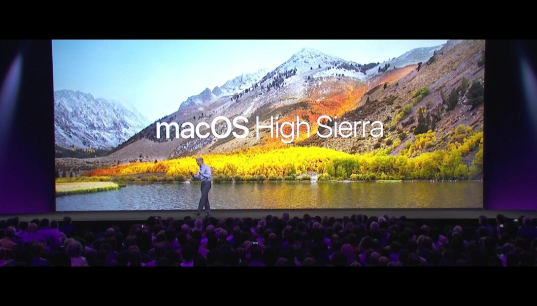 Skjermdump: Apple