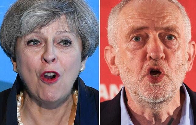 image: Sentrum i britisk politikk er radert ut. Fløyene står igjen