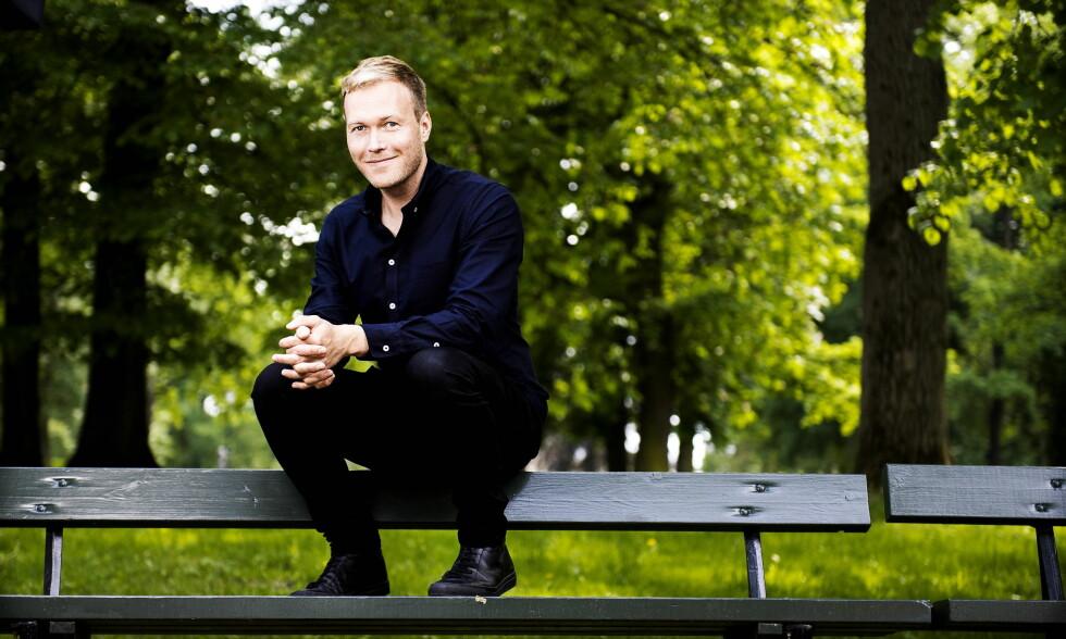SJELDEN HJEMME: Skuespiller Christian Rubeck (37) har vært med på flere storproduksjoner i det siste. Han er litt for sjelden hjemme i Oslo med familien. Foto:John T.Pedersen
