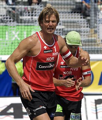 STJERNE: Bjørn Maaseide er tidligere volleyballstjerne, og huser nå en av verdens største stjerner. Foto: NTB scanpix